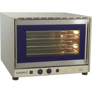 Heteluchtoven Euromax, 10918PBH, met stoominjectie, GN 1/1, EN 600 x 400 mm, draaideur, 400 V
