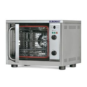 Heteluchtoven Euromax, 10940GBL, met grill, GN 1/2, draaideur