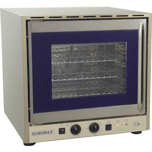 Heteluchtoven Euromax, 10961GHPB, met grill, stoominjectie en turbo reverse ventilator, GN 2/3, draaideur