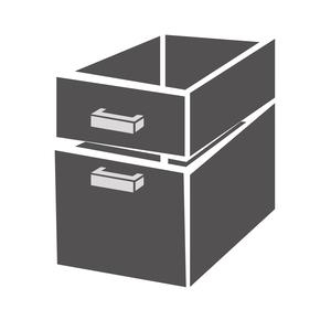 Ladenblok Combisteel 2/3 monoblock soft closing
