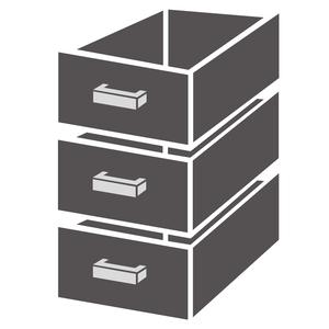 Ladenblok Combisteel 1/3 monoblock soft closing