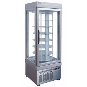 Display vrieskast Tekna, 4401 NFN, 4 glazen zijden, 7 roterende glasplaten