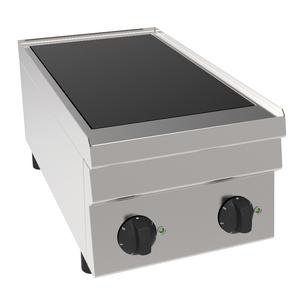 Vitrokeramisch fornuis, NordCap, CH6 / 2KFT, infrarood, 1 x 1,8 kW + 1 x 2,2 kW