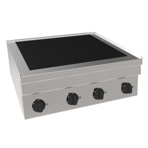 Vitrokeramisch fornuis, NordCap, CH6 / 4KFT, infrarood, 2 x 1,8 kW + 2 x 2,2 kW
