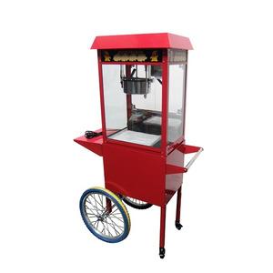 Popcornmachine, Combisteel, incl. Wielen