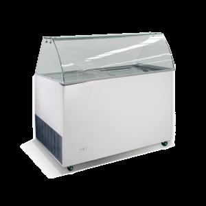 Schepijsvitrine Combisteel, Java, 9 x 5 liter