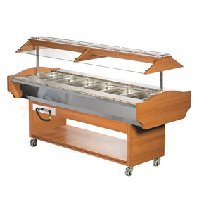 Warm buffet, Combisteel, 1 x GN 6/1