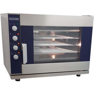 Steam oven Euromax, 9806PBH-GN, met stoominjectie en turbo reverse ventilatoren, 6 niveaus x GN 1/1, 380 Volt