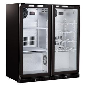 Glasdeur Husky barkoeler C2COMBI met 2 temperatuurzones