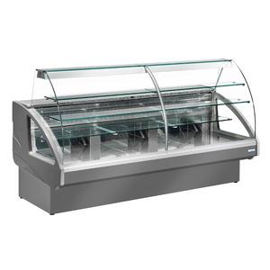 Taartvitrine NordCap, CAKE 140, statische koeling, Cool-Line