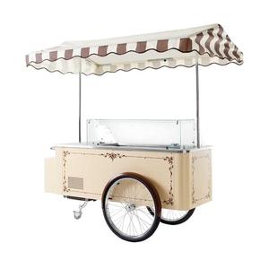 Roomijswagen Nordcap, CARRETTINO, beige, circulatiekoeling
