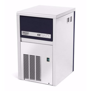 IJsblokjesmachine Brema, CB 184 HC, 21 kilo/dag, luchtgekoeld, RVS