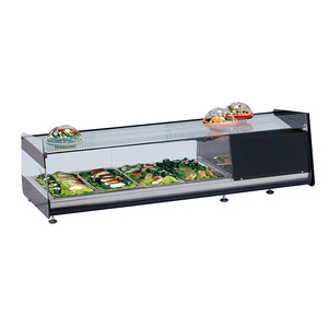 Sushivitrine NordCap, SUSHI-D 6 GN, 6 x GN 1/3, 40 mm