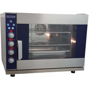 Digitale steam oven Euromax, D9806PBH-BR, met stoominjectie en turbo reverse ventilatoren, 6 niveaus x EN 600 x 400 mm, 380 Volt