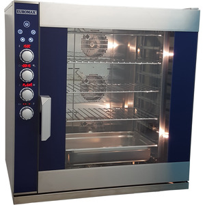 Digitale steam oven Euromax, D9810PBH-GN/CLS, met stoominjectie, turbo reverse ventilatoren en autoclean systeem, 10 niveaus x GN 1/1, 380 Volt
