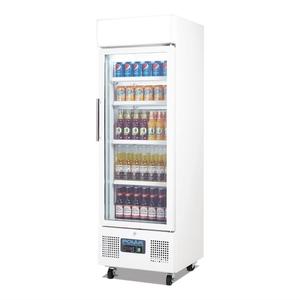 Koelkast, Polar, glasdeur, 218 liter