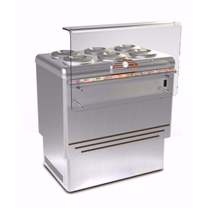 Schepijsvitrine Framec, Dolce Vita 6 Lux, statische koeling, 6 x 7,5-liter bakken
