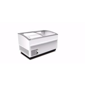 Koel- en vrieskist Framec, Domino Smart 150 Lux, statische koeling, glazen schuifdeksels