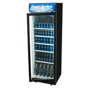 Glasdeur koelkast Exquisit  ELDC 400 1 XL, zwart