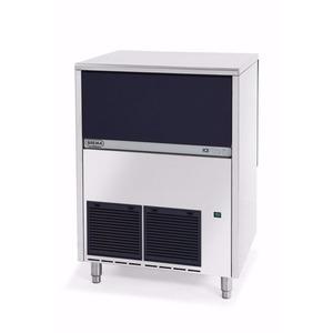 IJsblokjesmachine Brema, IMF 80, 75 kilo/dag, vingerhoedvormige ijsblokjes, waterkoeling
