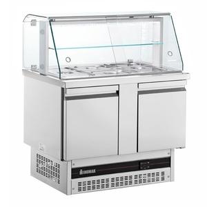 Saladette Inomak met glasopbouw BSV7300