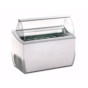 Schepijsvitrine Framec, J 7 Extra, statische koeling, 7 x 5-liter bakken