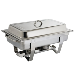 "Chafing dish ""Milan"", Olympia, RVS, GN 1/2"