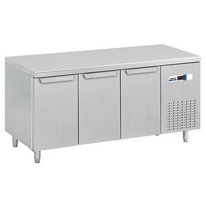 Koelwerkbank NordCap, KT 1755 3T, 3 deuren, GN 1/1, Cool-Line