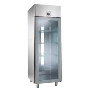 Koelkast NordCap, KU 702-G Comfort, GN 2/1, glazen deur