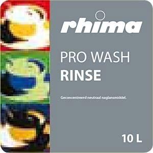 Pro Wash Rinse, naspoelmiddel Rhima, 10 liter