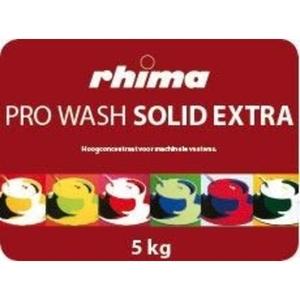 Pro Wash Solid Extra, vaatwasmiddel Rhima voor doorschuifmachine