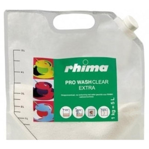 Pro Wash Clear Extra, vaatwasmiddel Rhima voor voorlader