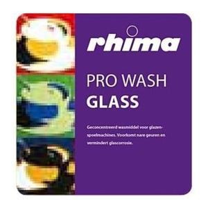 Pro Wash Glass, vaatwasmiddel Rhima voor glazenspoelmachine