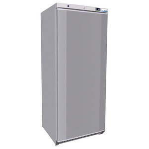Vrieskast Nordcap, RNX 600 GL, statische koeling, RVS, Cool-Line