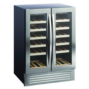 Wijnklimaatkast Scancool, SV90, dynamische koeling, 2 temperatuurzones