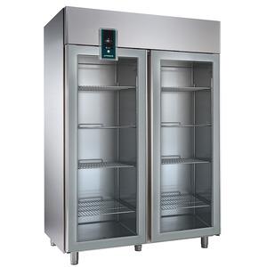Diepvrieskast NordCap, TKU 1402-G Premium, GN 2/1, dubbele glasdeuren