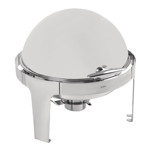 "Chafing dish ""Paris"", Olympia, RVS, rolltop deksel"