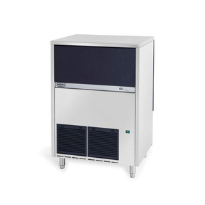 IJsblokjesmachine Brema, VB 250, 105 kilo/dag, pyramidevormige ijsblokjes, waterkoeling