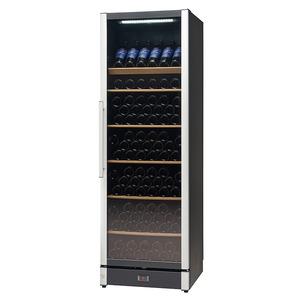 Wijnklimaatkast Nordcap, W 185, glasdeur, 2 temperatuurzones