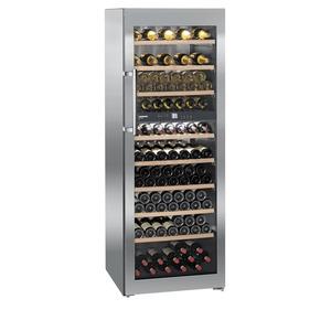 Wijnklimaatkast Liebherr, WTes 5972, Vinidor, RVS, glasdeur