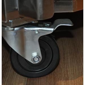 Koelkast Combisteel, 600 liter, RVS + Alu
