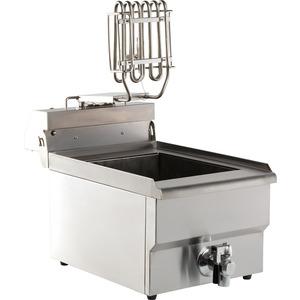 Friteuse, Combisteel, tafelmodel, 1 x 8 liter