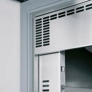 Vrieskast Inomak met glazen deur, CBS 172 GL