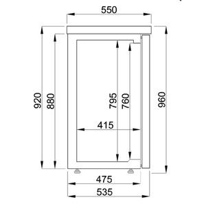 Barkoeler Combisteel, 2 deuren