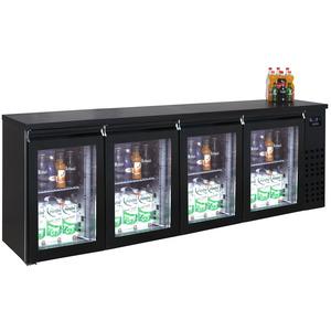 Barkoeler Combisteel, 4 glasdeuren