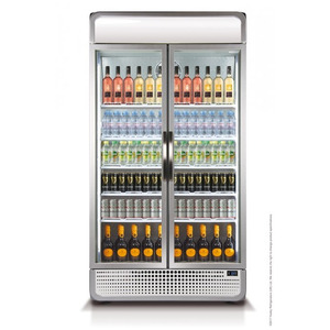 Glasdeur koelkast Husky C10PRO + Canopy