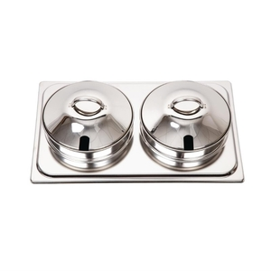 """Bain marie set voor chafing dish """"Milan"""", Olympia, RVS"""