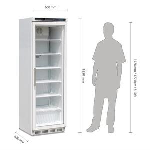 Vrieskast, Polar, glasdeur, 365 liter