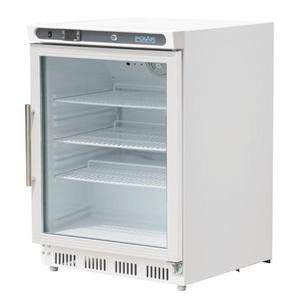 Koelkast, Polar, glasdeur, 150 liter