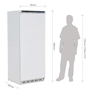 Koelkast, Polar, 600 liter, wit, GN 2/1